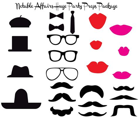photo booth props template free 9 best images of free printable photo booth templates free beard photo booth props printable