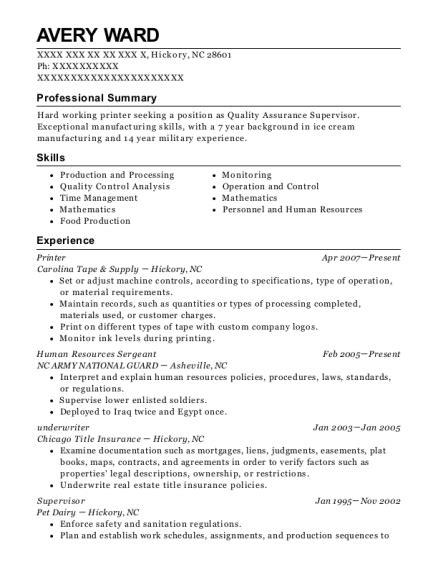 Army Sergeant Resume by Best Human Resources Sergeant Resumes Resumehelp