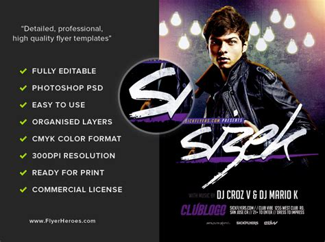 Sizek Dj Flyer Template  Flyerheroes. Happy Bday Images. Best Tow Truck Invoice Template. Dinner Party Invite Template. University Of Washington Graduate School. Mobile App Wireframe Template. 50 50 Raffle Flyer. Picnic Invitation Template Free. Best Epic Security Officer Cover Letter