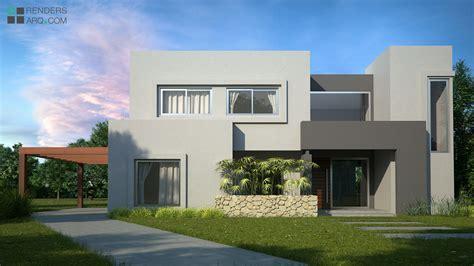 Casa Country, Benavidez  Renders Arquitectura