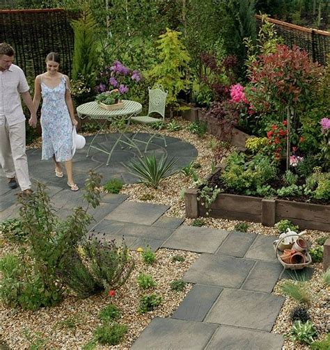 integrated paving  gravel concept minden ami kert