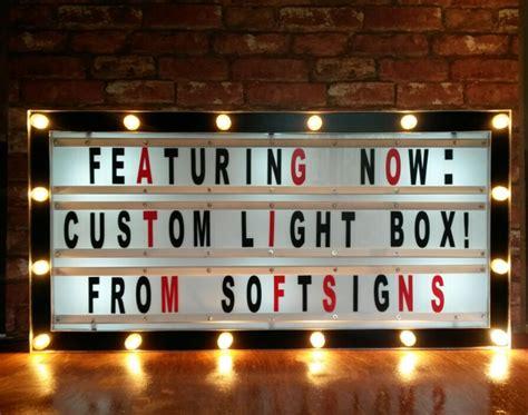 cinema box led light custom movie light box softsigns