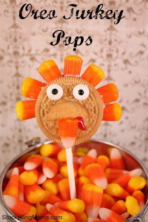 Oreo Turkey Pops