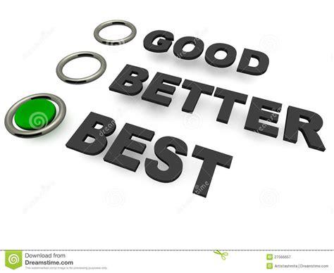 Best Option Choice Stock Illustration Illustration Of