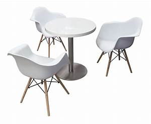 Blanc Cafe Table is available for rent or sale within