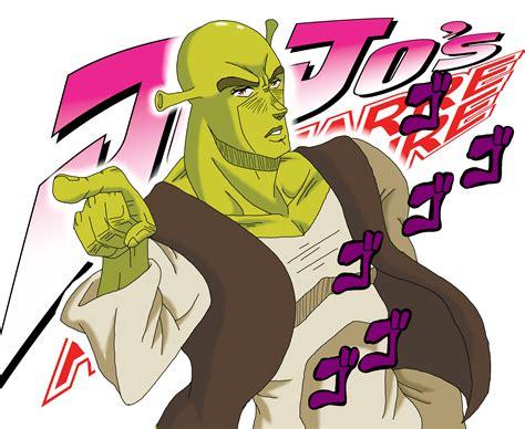 Jojo S Memes - shrek s bizarre adventure jojo s bizarre adventure know your meme
