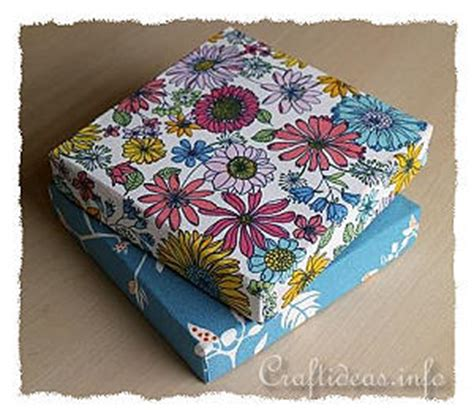 fabric covered boxes craft idea with fabric and boxes cover box lids with fabric 3650