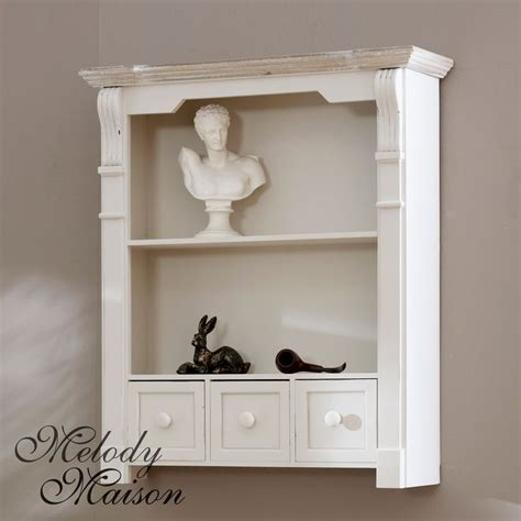 bathroom wall shelves casual cottage 463 best images about shabby chic furniture on pinterest ash shabby and drawers
