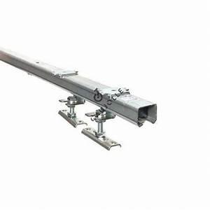 Kit Porte Coulissante Suspendue : rail de guidage pour porte coulissante cheap porte ~ Edinachiropracticcenter.com Idées de Décoration