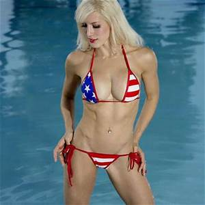 Patriotic Sexy Scrunch Butt Bikini 2pc from Bitsy's Bikinis