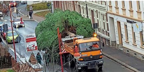 Döbeln Hat Wieder Prächtigen Weihnachtsbaum