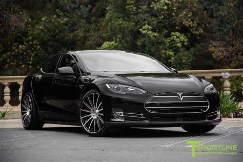 Expensive Model by Black 2014 Tesla Model S P85d Custom Bentley Linen
