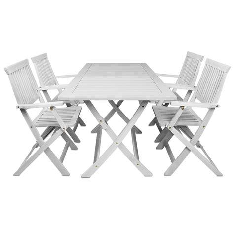 garden furniture set sydney white acacia wood garden table