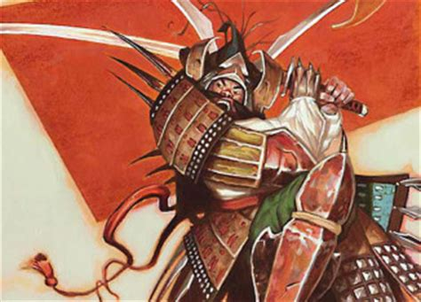 Magic The Gathering Samurai Deck Build by Magic The Gathering Top Tier Tactics Videogame