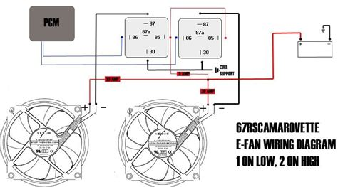 ls1 pcm controlled fans with vintage air trinary switch ls1tech camaro and firebird forum