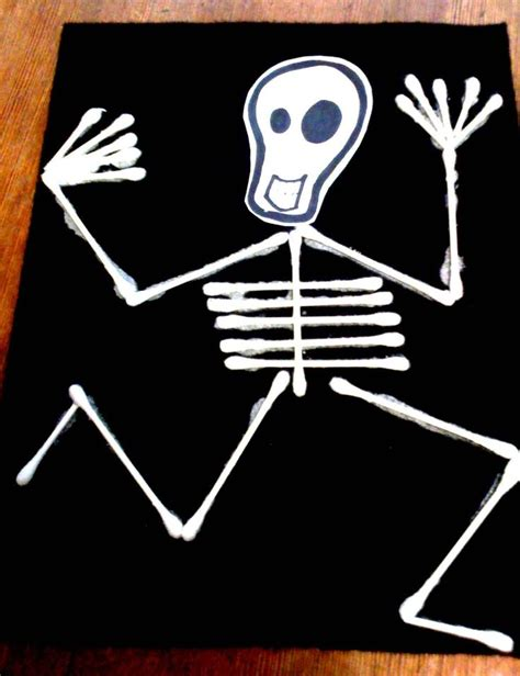 1000 ideas about skeleton craft on preschool 124 | 802bc2a218465ffda3f52fadfbd3879e