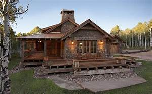 Awesome Log Home With Rustic Interior - Cozy Homes Life