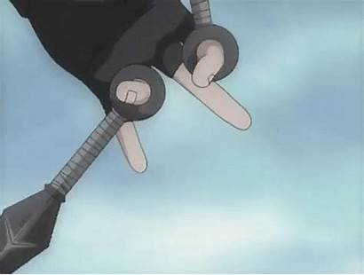 Naruto Kunai Kakashi Tricks Anime Sasuke Discover