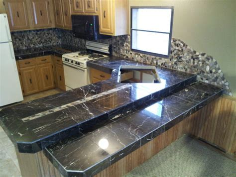 Kitchen Countertop   Marble Tile Etching Problem