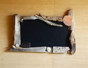Cadre Photo 60x40 : en fer de bois tableau avec encadrement en bois flott ~ Teatrodelosmanantiales.com Idées de Décoration