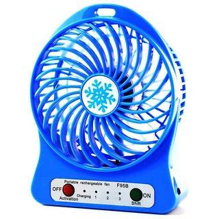 small but powerful fan 3 speeds electric portable mini fan rechargeable small