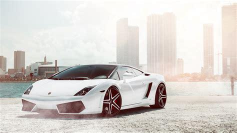 Lamborghini Gallardo White Wallpaper