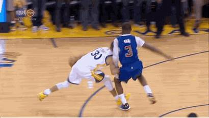 Curry Stephen Shot Paul Chris Foul Winning