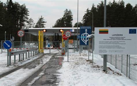 Latežerio pasienio kontrolės punkte - šiuolaikiška infrastruktūra   Susisiekimo ministerija