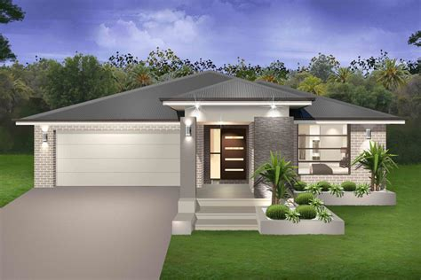 contemporary house plans single story seachange single storey marksman homes illawarra and southern highlands
