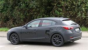 Mazda3 With Skyactiv X Engine Technology Caught Testing In