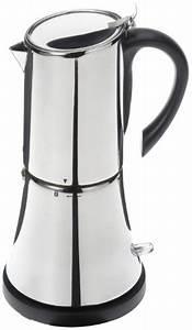 Espressokocher Edelstahl Elektrisch : rommelsbacher cilio 270037 espressokocher faro elektrisch 6 tassen ~ Watch28wear.com Haus und Dekorationen