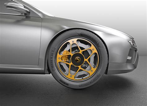 Continental Introduces An Innovative Wheel And Braking
