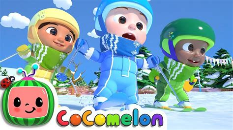Let's go to the beach! Ski Song | CoCoMelon Nursery Rhymes & Kids Songs - YouTube ...
