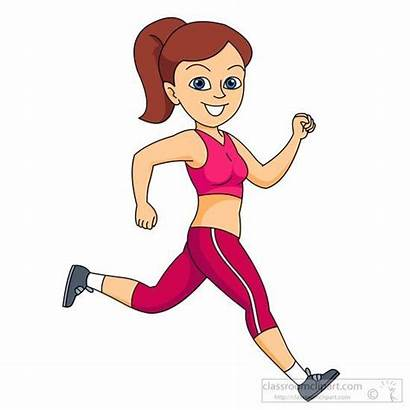 Running Clipart Jogging Exercise Fitness Fast Clothes