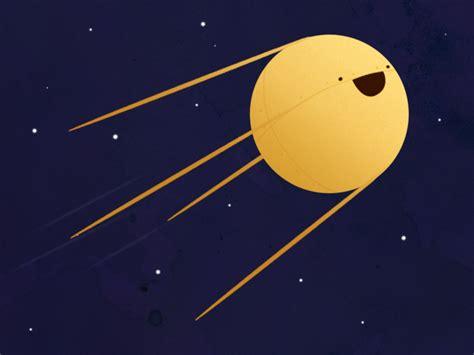 Sputnik by Nicole Vandemosselaer - Dribbble