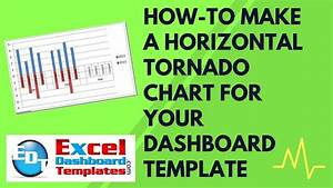 How-to Make A Horizontal Tornado Chart In Excel For Your Dashboard Template