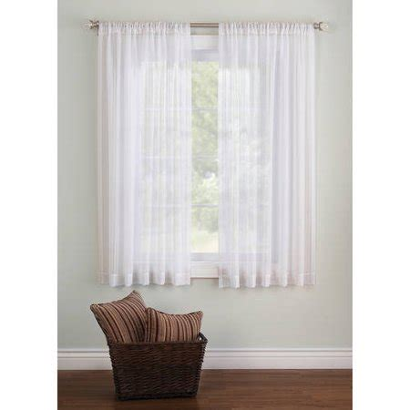sheer curtains walmart better homes and gardens elise woven stripe sheer window
