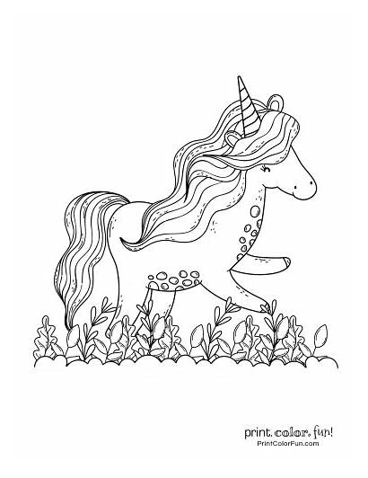 Unicorn Coloring Pages Printable Magical Fun Ultimate