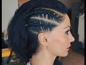 Undercut Mit Zopf : flechtfrisur an der kopfhaut flechten sommer frisur punk look shakira hairstyle fashion youtube ~ Frokenaadalensverden.com Haus und Dekorationen