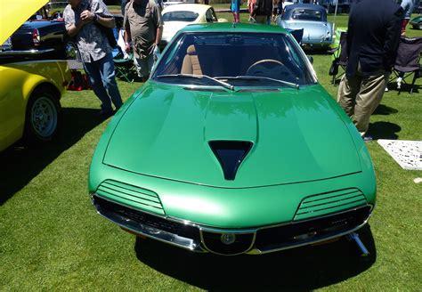 A Bright Green Alfa Romeo Montreal