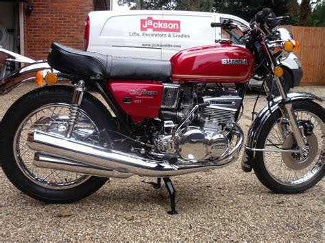 1976 Suzuki Gt550 by Restored Suzuki Gt550 1976 Photographs At Classic Bikes