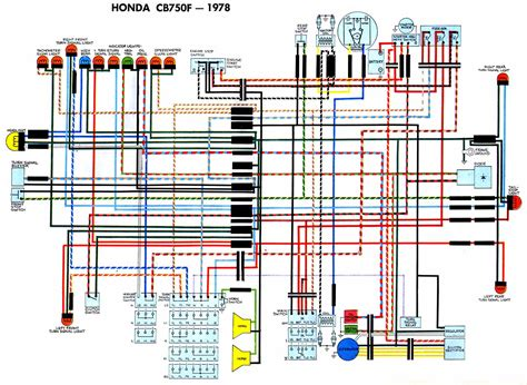 Cb 7 50 Wiring Diagram by Honda Cb750f 1978 Wiring Diagram 61613 Circuit And