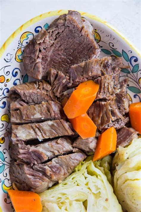Allow the instant pot to natural release for 15 minutes. Instant Pot Corned Beef and Cabbage - The Roasted Root