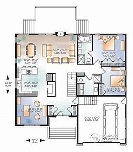 Modern Bungalow With Remarkable Layout More Information On This House Plan Here