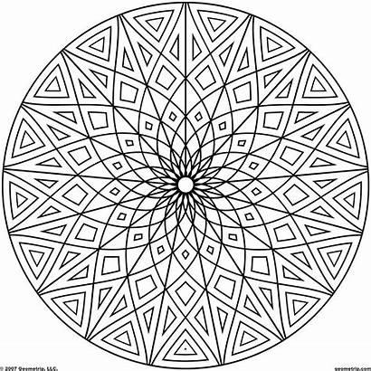 Coloring Pages Printable Mandala Awesome Designs Mandalas