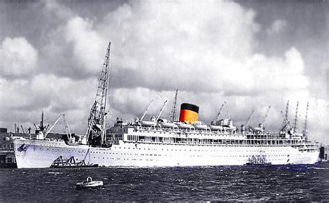 Scheepvaartmuseum Ms Oranje by Ms Oranje Maiden Voyage Cruise 4 August 1939 Passenger List