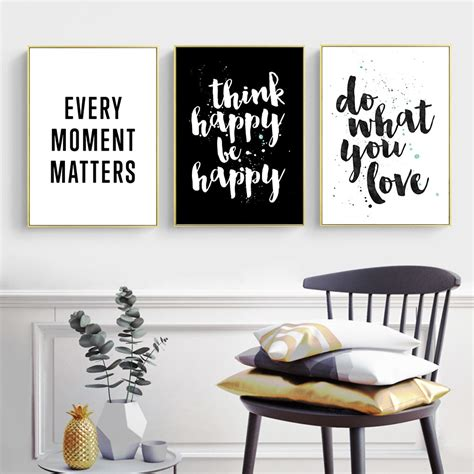 buy inspirational quote canvas posters