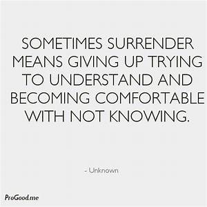 25+ best Surren... Daily Surrender Quotes
