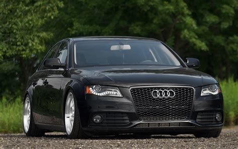 Audi A4 4k Wallpapers by Wallpapers Audi A4 4k B8 Stance Tuning Black