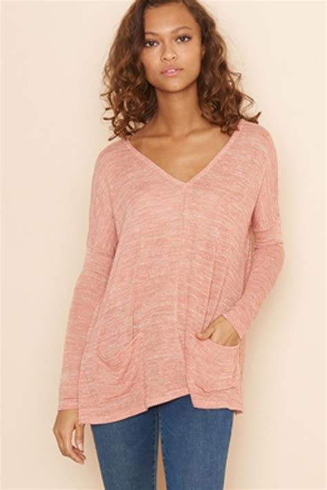 Garage Clothing Sweaters by Boxy V Neck Sweater With Pockets New Arrivals